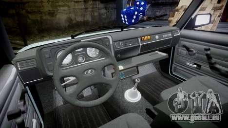 VAZ-21054 für GTA 4 Innenansicht