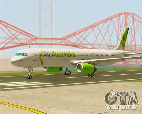 Airbus A321-200 Air Australia pour GTA San Andreas laissé vue