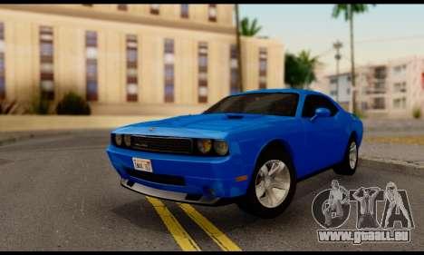 Dodge Challenger SXT Plus 2013 für GTA San Andreas