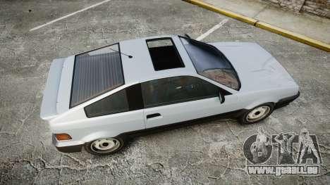 Dinka Blista Compact GPX für GTA 4 rechte Ansicht