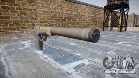 Pistolet QSZ-92 silencieux pour GTA 4