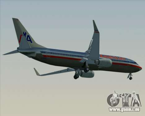 Boeing 737-800 American Airlines pour GTA San Andreas moteur