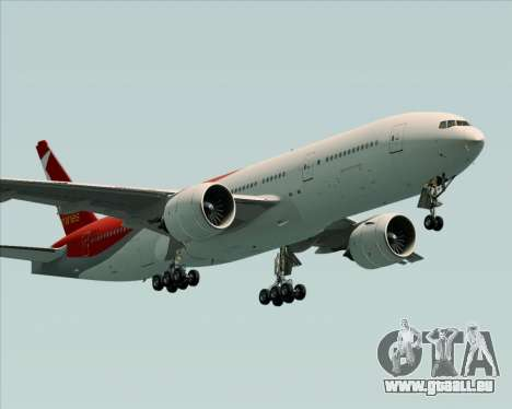 Boeing 777-21BER Nordwind Airlines pour GTA San Andreas vue de droite