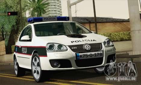 Volkswagen Golf V für GTA San Andreas