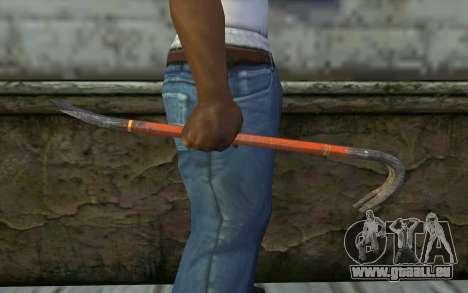 Le Pied-De-Biche (DayZ Standalone) pour GTA San Andreas troisième écran