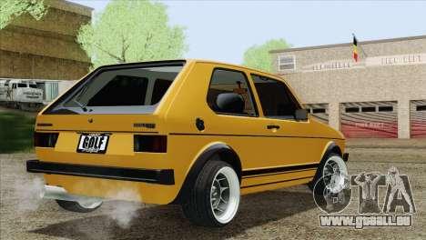 Volkswagen Golf MK1 GTI für GTA San Andreas linke Ansicht