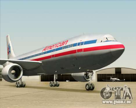 Airbus A300-600 American Airlines für GTA San Andreas Motor