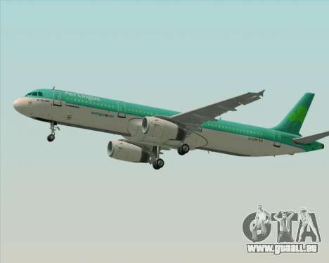 Airbus A321-200 Aer Lingus für GTA San Andreas Motor