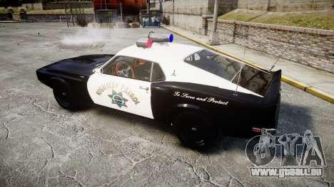 Shelby GT500 428CJ CobraJet 1969 Police pour GTA 4 est une gauche