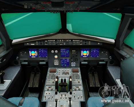 Airbus A321-200 Middle East Airlines (MEA) pour GTA San Andreas salon
