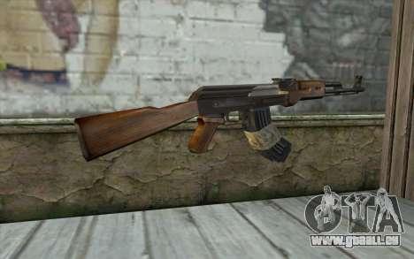 AK47 from Firearms v2 für GTA San Andreas zweiten Screenshot