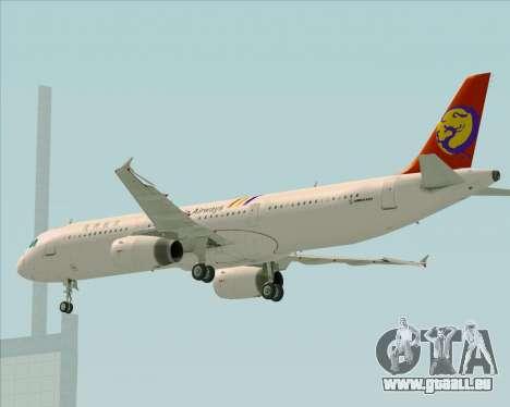 Airbus A321-200 TransAsia Airways für GTA San Andreas Motor