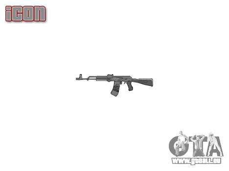 Kalachnikov 101 pour GTA 4 troisième écran