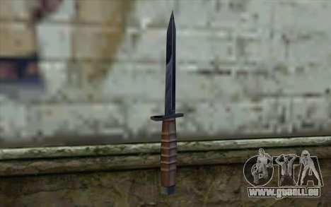 American couteau pour GTA San Andreas deuxième écran