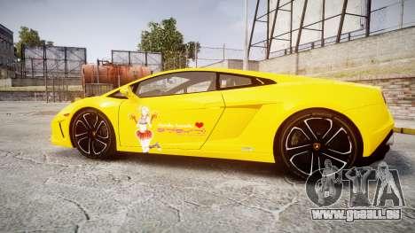 Lamborghini Gallardo 2013 Honoka Kousaka pour GTA 4 est une gauche