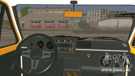 Volkswagen Golf MK1 GTI pour GTA San Andreas sur la vue arrière gauche