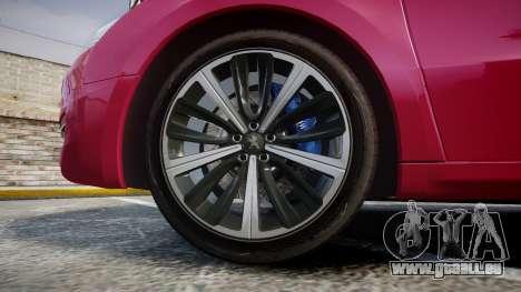Peugeot 508 v1.2 für GTA 4 Rückansicht