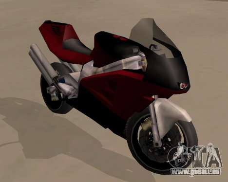 NRG-500 Winged Edition V.1 pour GTA San Andreas vue arrière