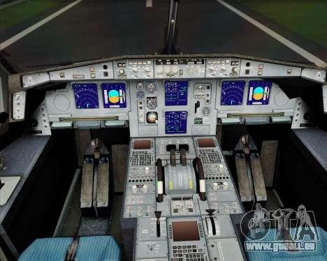Airbus A340-600 EVA Air für GTA San Andreas Innen