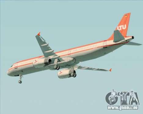 Airbus A321-200 LTU International pour GTA San Andreas vue intérieure