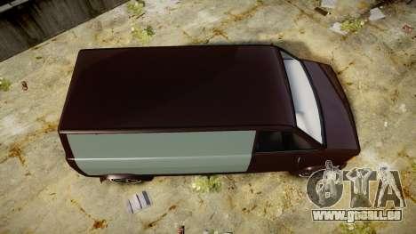 Declasse Burrito Custom pour GTA 4 est un droit