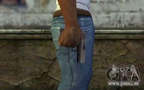 Glock from Half - Life Paranoia für GTA San Andreas dritten Screenshot