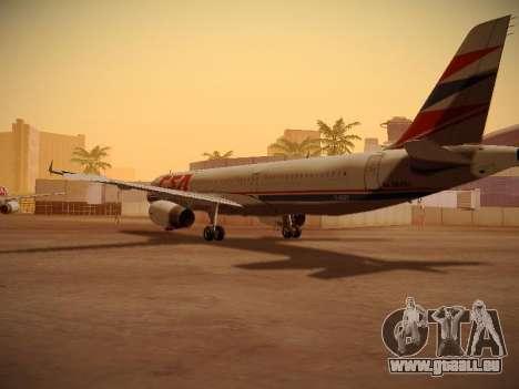Airbus A321-232 Czech Airlines für GTA San Andreas Rückansicht