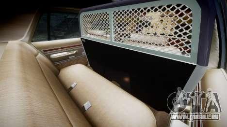 Ford LTD Crown Victoria 1987 Police CHP1 [ELS] pour GTA 4 est un côté