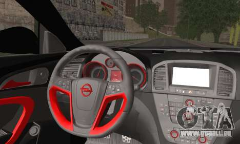 Opel Insignia für GTA San Andreas zurück linke Ansicht