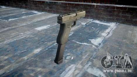 Pistolet Glock 18 pour GTA 4 secondes d'écran