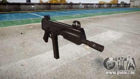 Pistolet SMT40 pas de fesses icon3 pour GTA 4