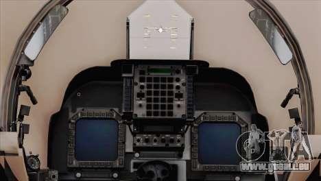 EMB AV-8 Harrier II USA NAVY für GTA San Andreas rechten Ansicht