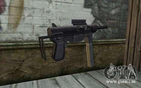Grease Gun from Day of Defeat pour GTA San Andreas deuxième écran