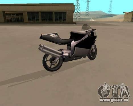 NRG-500 Winged Edition V.1 pour GTA San Andreas laissé vue