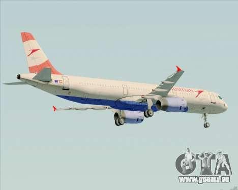 Airbus A321-200 Austrian Airlines pour GTA San Andreas moteur