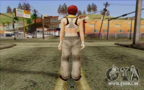 Mila 2Wave from Dead or Alive v15 pour GTA San Andreas deuxième écran