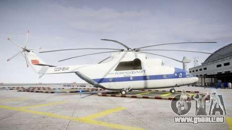 Mi-26 für GTA 4 linke Ansicht
