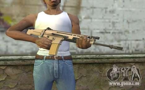 MK 16 SCAR für GTA San Andreas dritten Screenshot