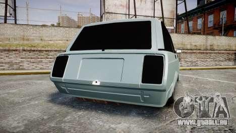 VAZ-2104 hooligan azerbaïdjanais style pour GTA 4 Vue arrière de la gauche
