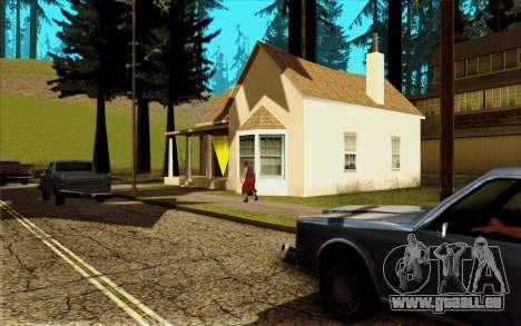 Nouveau CJ maison à Angel Pine pour GTA San Andreas