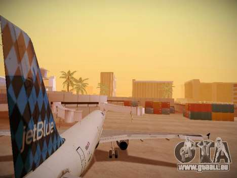Airbus A321-232 jetBlue Airways pour GTA San Andreas