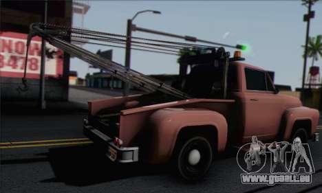 Towtruck GTA 5 für GTA San Andreas linke Ansicht