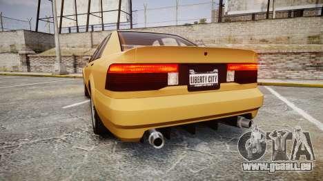 Maibatsu Vincent GT v2.0 pour GTA 4 Vue arrière de la gauche