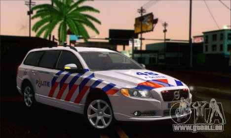 Volvo V70 LE Politie pour GTA San Andreas