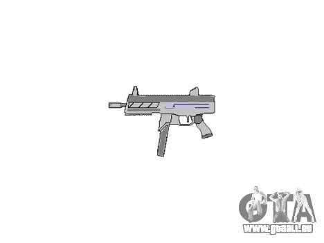 Gun SMT40 keine butt icon3 für GTA 4 dritte Screenshot