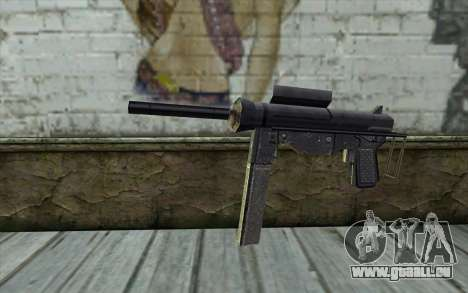 Grease Gun from Day of Defeat pour GTA San Andreas