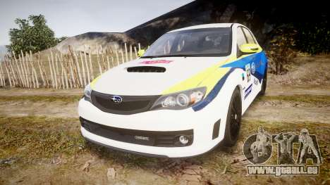 Subaru Impreza Cosworth STI CS400 2010 Custom pour GTA 4