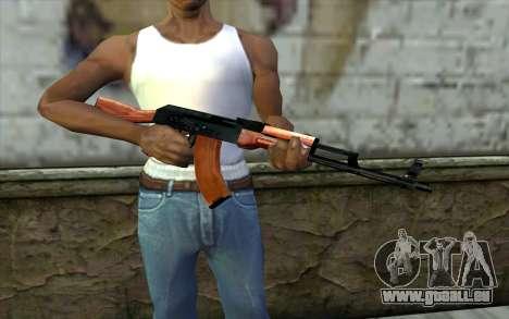 АКМ aus Half - Life Paranoia für GTA San Andreas dritten Screenshot