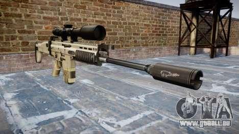 Gewehr Mk 17 SCAR-H für GTA 4