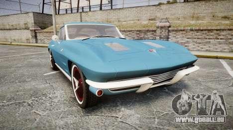 Chevrolet Corvette Stingray 1963 v2.0 pour GTA 4